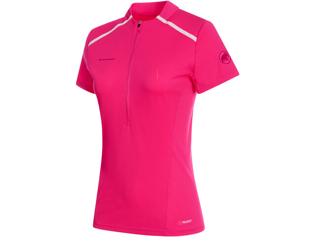 Mammut Atacazo Light T-shirt avec demi-zip Femme, pink